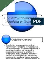 Contexto Nacional de la Ingeniería en Transporte