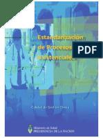 Estandarización de Procesos Asistenciales - 2007 - Msal