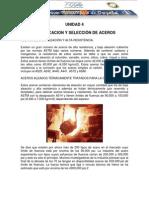 Clasificacion y Seleccion de Aceros
