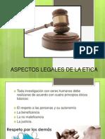 Aspectos Legales de La Etica