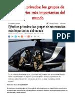 Ejércitos privados