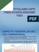 Eje Hipotalamo Ovario Endometrio