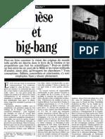 Henri Blocher - Genèse et big-bang