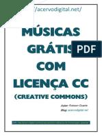 MÚSICAS COM LICENÇA CC.pdf