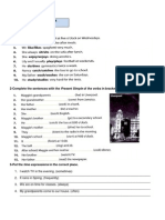 Grammar Practice - Present Simple