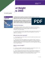 Work at Height Regulations Short Guide
