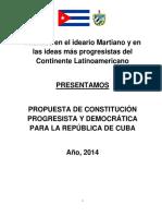 Constitución de Cuba Nuevo Proyecto