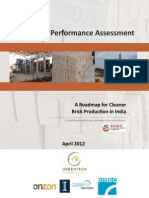 Brick Kilns Performance Assessment