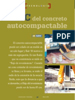 El ABC del Concreto Autocompactable
