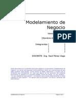1. Modelamiento de Negocio