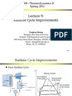 Improvement Rankine Cylce