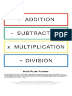 09 Math Facts Labels