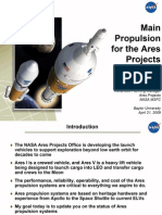 NASA Propulsion for Ares Rockets