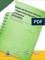 Modelo del Sistema Nacional de Supervisión de Honduras.