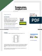 Txapuzas Blogspot Com Es 2009 12 Paper3wirelcd HTML