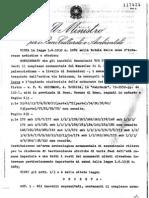 Ad Duas Lauros _ Decreto Ministeriale vincolo archeologico