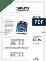 Txapuzas Blogspot Com Es 2009 12 Interface de Driver Chino p