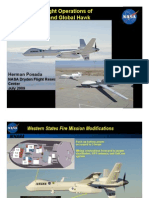 NASA Flight Operations of Ikhana and Global Hawk