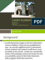 condit elementary school profile