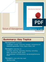 Chapter 1 - The Nature of Management