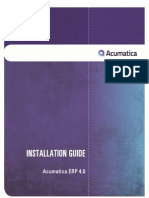 2 AcumaticaERP 4.0 InstallationGuide Final