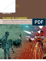 Climate Change Impact on Agriculture and Costs of Adaptation