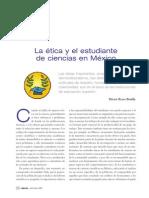 Reyes-Bonilla 2005. La ética y el estudiante de ciencias en México.- CIENCIA.66