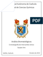 Practica Cromatografía HPLC