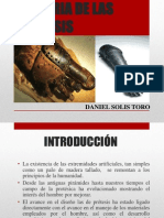 Historia de Las Protesis
