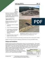 SC-02 Sediment Control Log