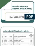 Overhead Catenary System (Listrik Aliran Atas)