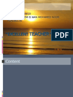 Excellent Teacher