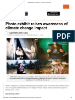 Photo Exhibit Raises Awareness of Climate Change Impact | RAPPLER.COM