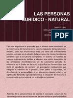 LAS PERSONAS JURÍDICO - NATURAL.pptx
