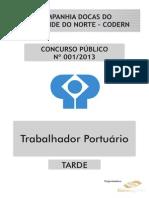 TRABALHADOR PORTUÁRIO