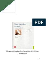 Andacht Fernando - El lugar de la imaginación en la semiótica de Peirce