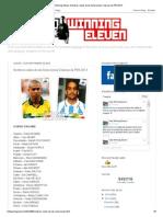 Todo Winning Eleven_ Nombres reales de las Selecciones Clásicas de PES 2013