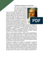 Historia Del Desarrollo de La Sociologia