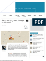 Santa Tracking Wars_ Google vs Microsoft - SlashGear