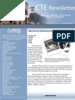 Career Technology Education Newsletter