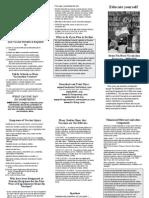 Educate Yourself Flyer (Flu Vaccine)