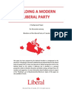 Building a Modern Liberal Party