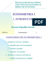 Econometria i Intro