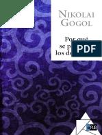 Por Que Se Pelearon Los Dos Ivanes - Nikolai Gogol