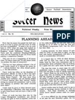 Soccer News 1949 July 9