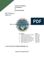 Niff 8 y 9 Efectos de Adopcion e Impacto Fiscal. Trabajo No. 15