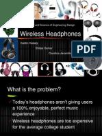 Headphones Presentation