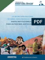 Nueva Institucionalidad para un país más justo e inclusivo