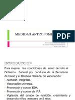 MEDIDAS ANTROPOMETRICAS
