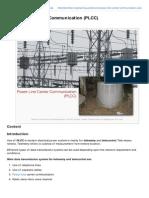 Power Line Career Communication